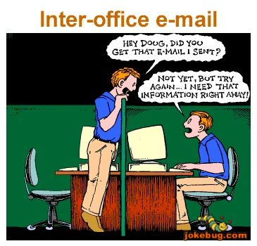 Funny picture e mail work jokes for Bureau humour